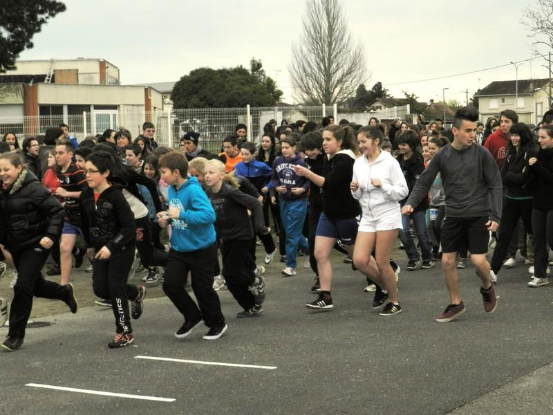 Collège Jean moulin : Sportifs et solidaires