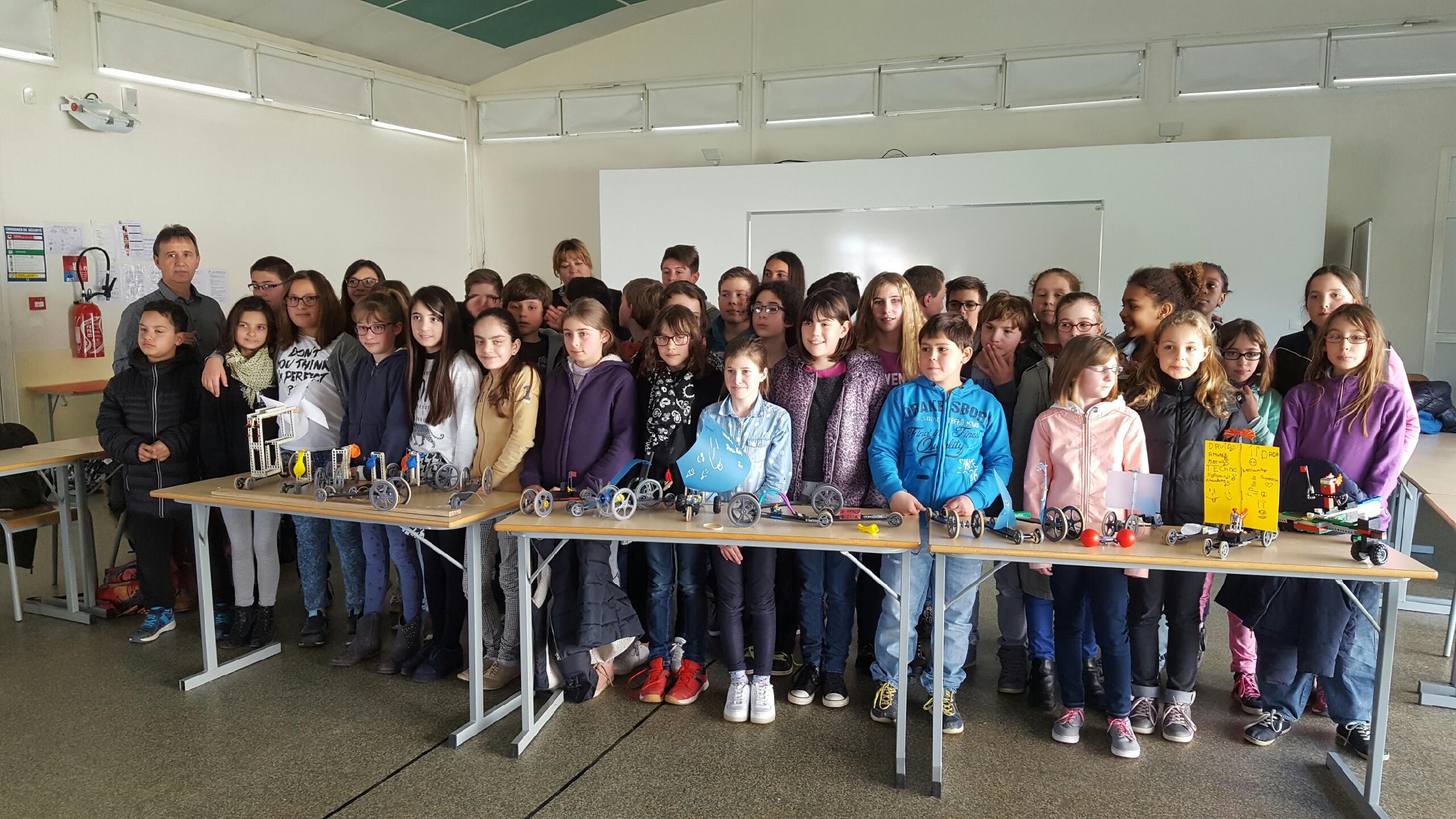 Rencontre école – collège « défi énergie »