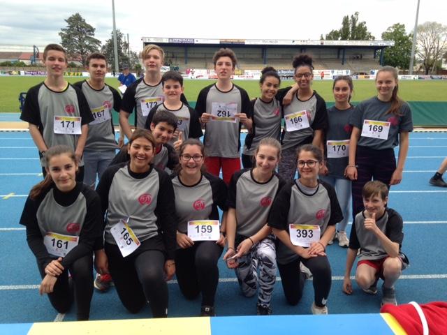 UNSS : Félicitations à nos jeunes athlètes