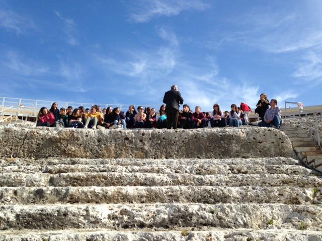 Un échange Erasmus riche en idées à Syracuse