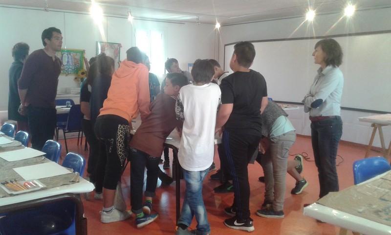 Les 6e7 en visite-atelier au musée Marzelles