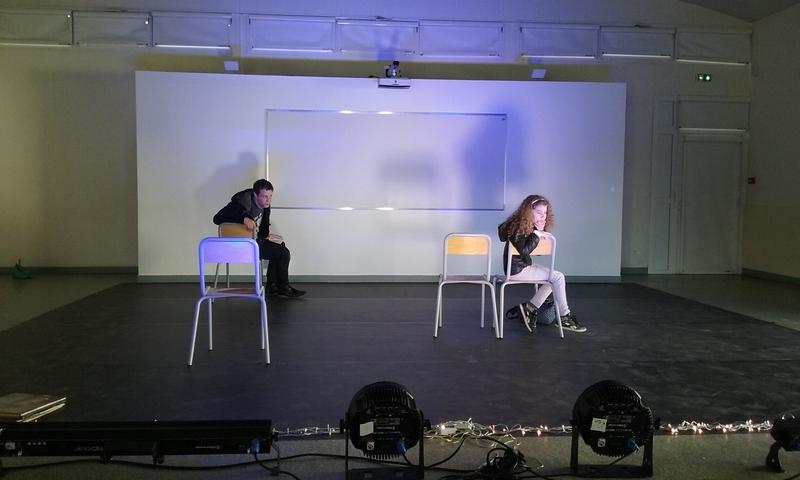 Du théâtre dans les murs du collège
